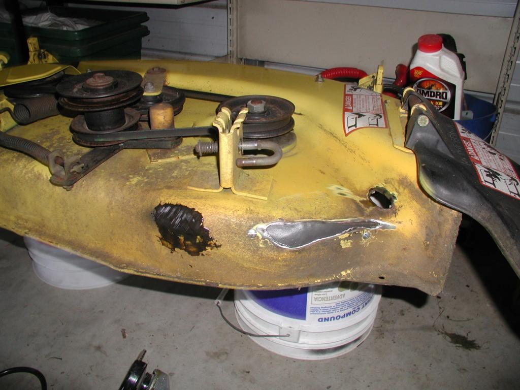 More mower stuff and misc. ramblings P1010343