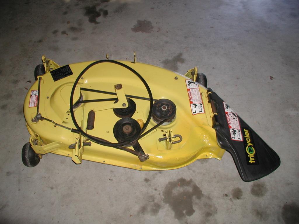 More mower stuff and misc. ramblings P1010345