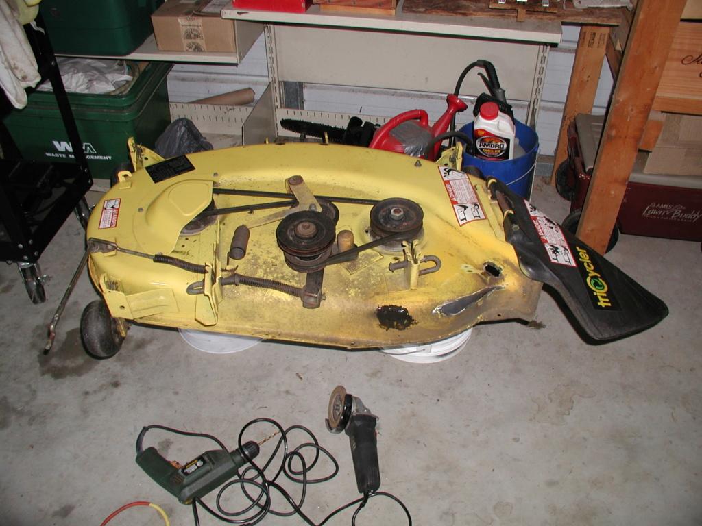More mower stuff and misc. ramblings P1010346