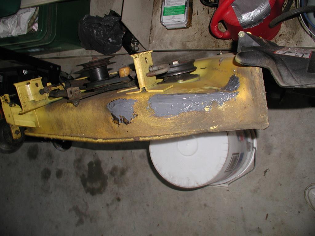 More mower stuff and misc. ramblings P1010347