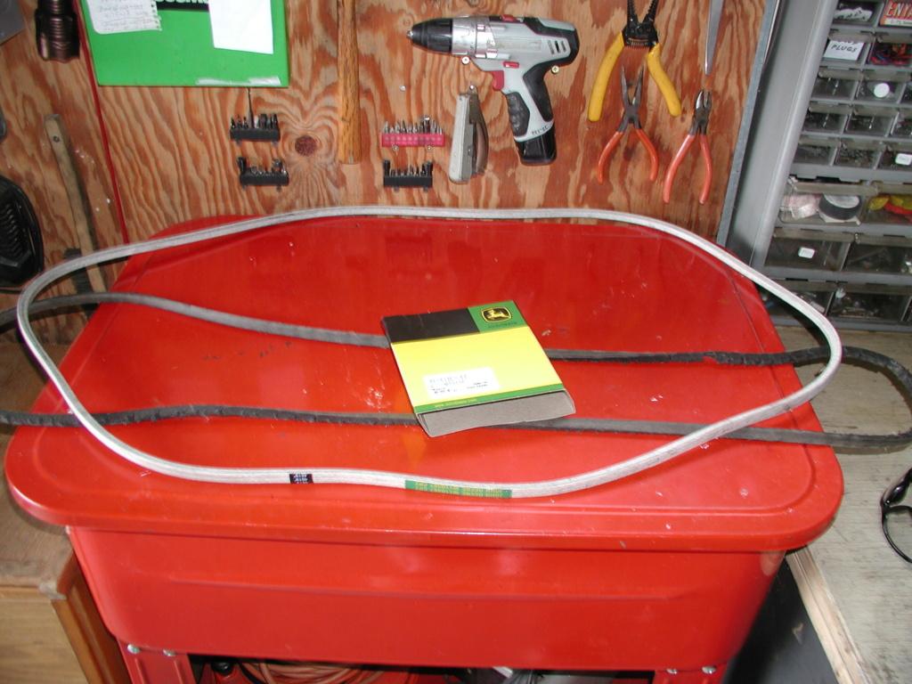 More mower stuff and misc. ramblings P1010351