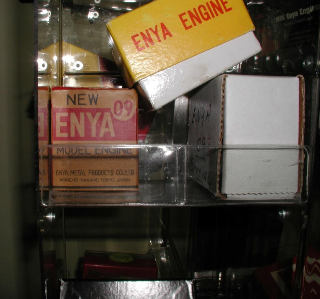 Last of the Enya Diesel engines purchased off of Enya's website. P1010523