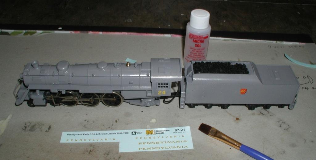 Model Locomotive stuff P1010694