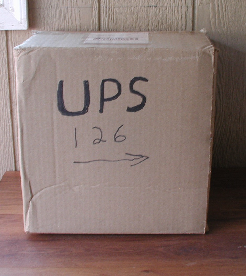 The shipping wars or my personal battle with UPS P1010792