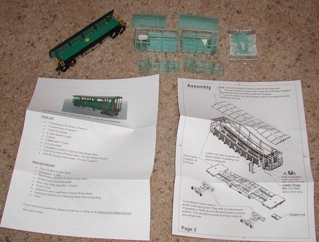 3D printing an old railway coach P1010905