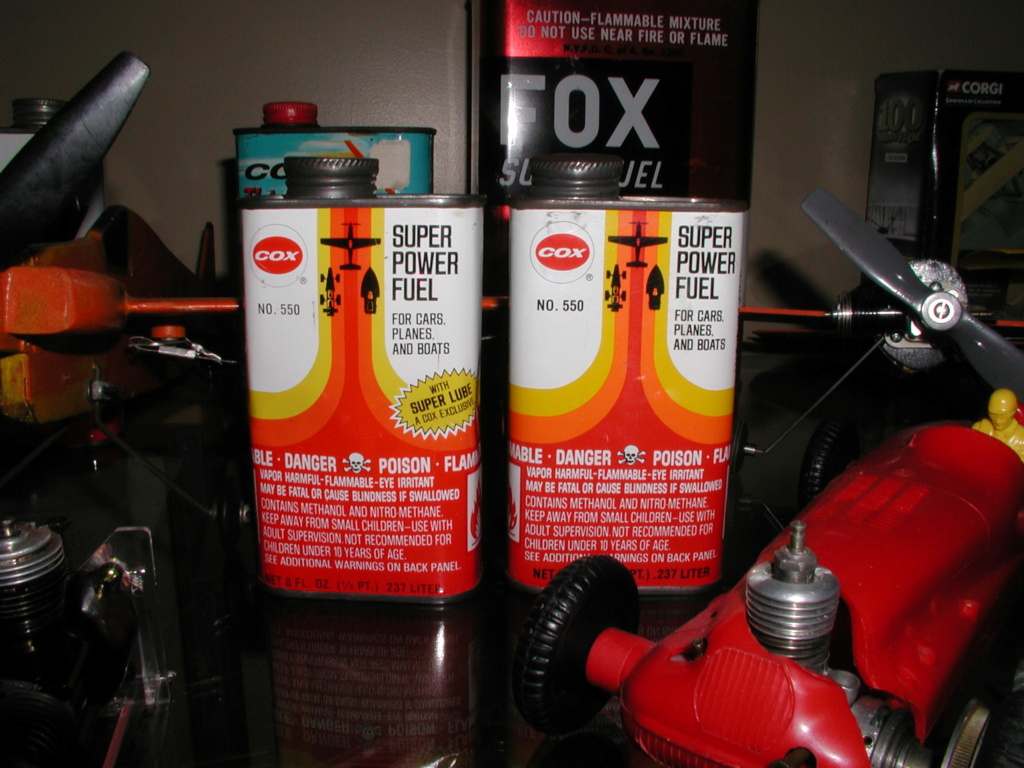 Finely aged glow fuel. P1011013