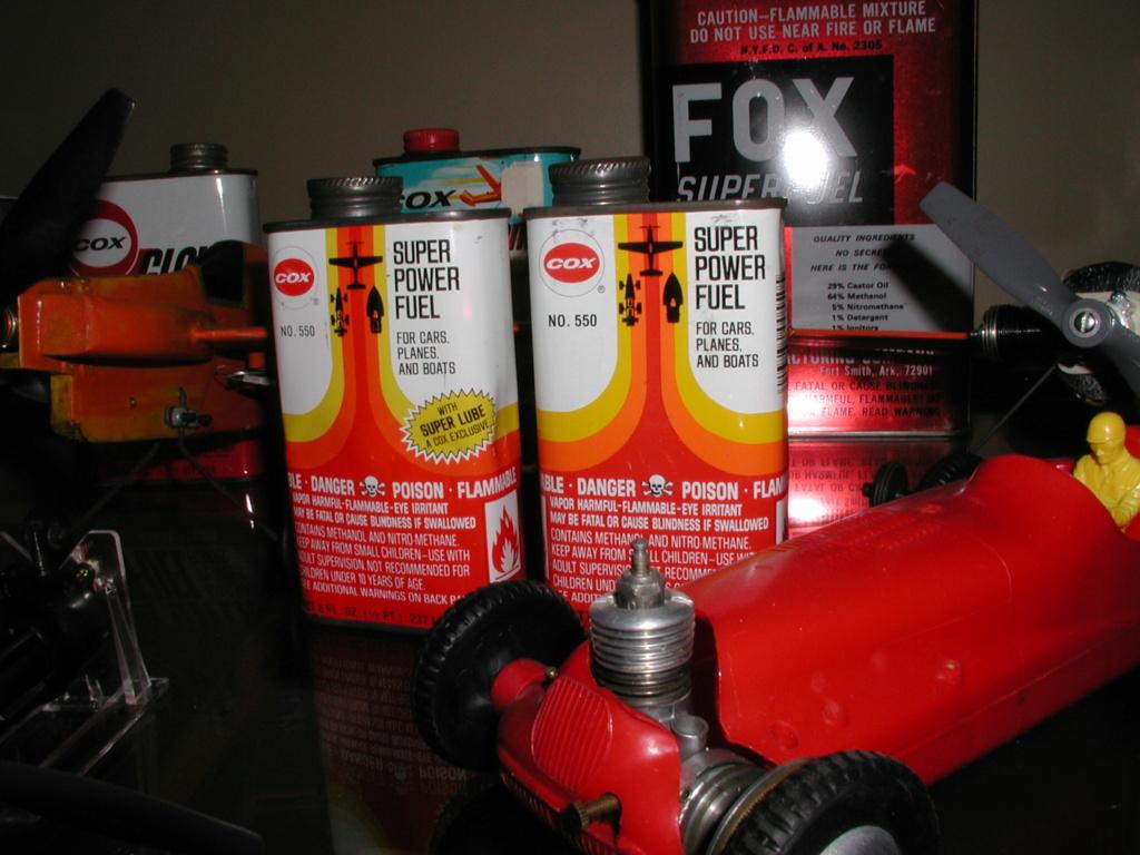 Finely aged glow fuel. P1011014