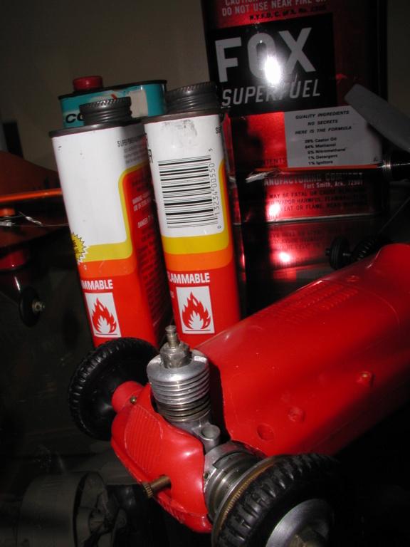 Finely aged glow fuel. P1011015