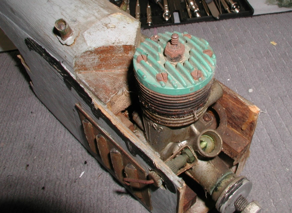 K&B .35 Torpedo Green Head P1011142