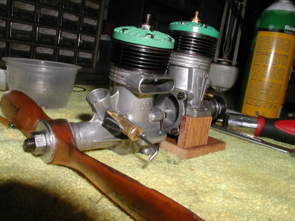 K&B Green head torpedo .35 - It worked P1011184