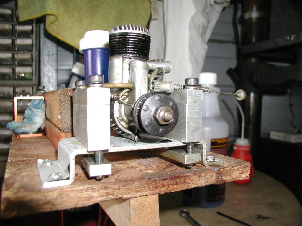 K&B Green head torpedo .35 - It worked P1011246