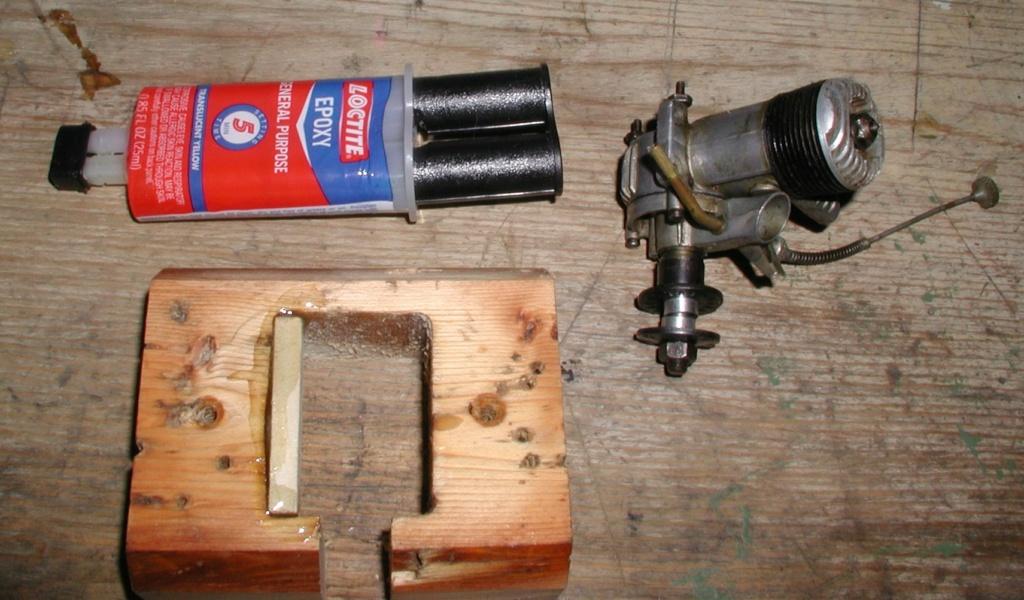 Building an Ohlsson & Rice test mount P1011254