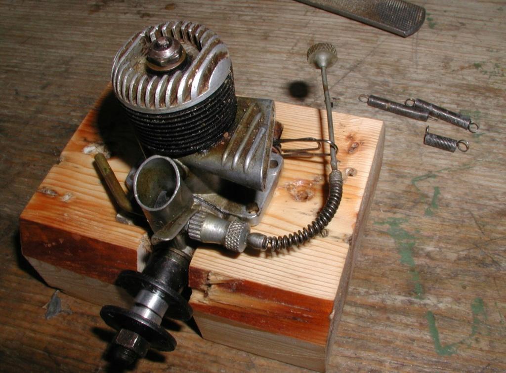 Building an Ohlsson & Rice test mount P1011256