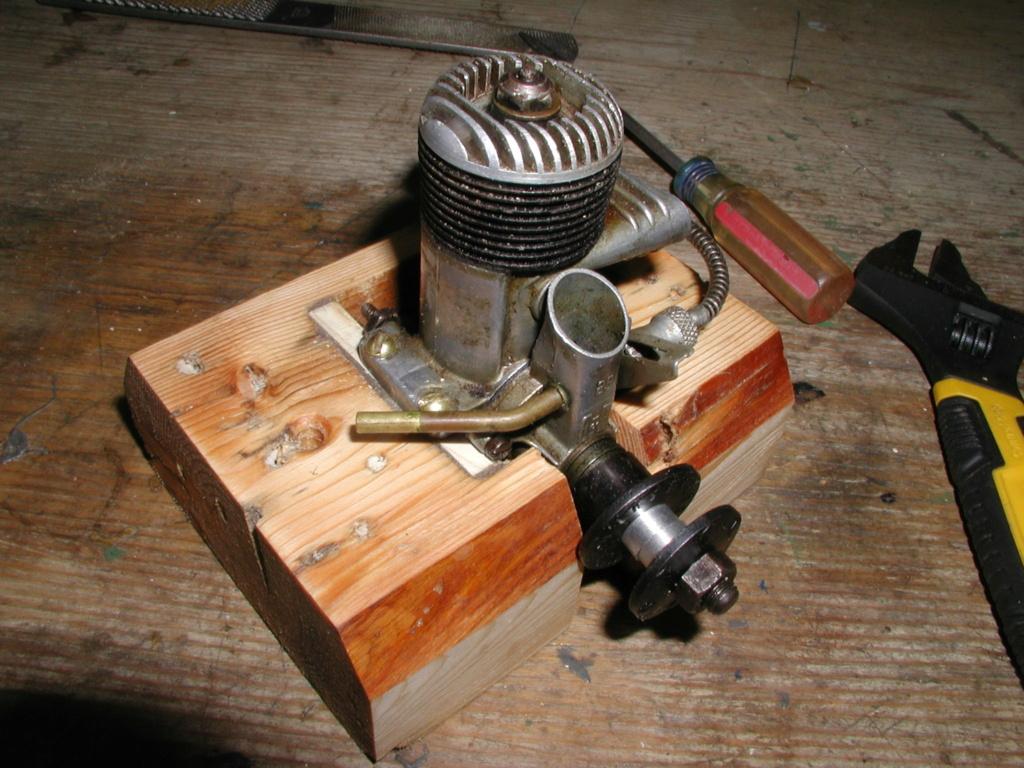 Building an Ohlsson & Rice test mount P1011257