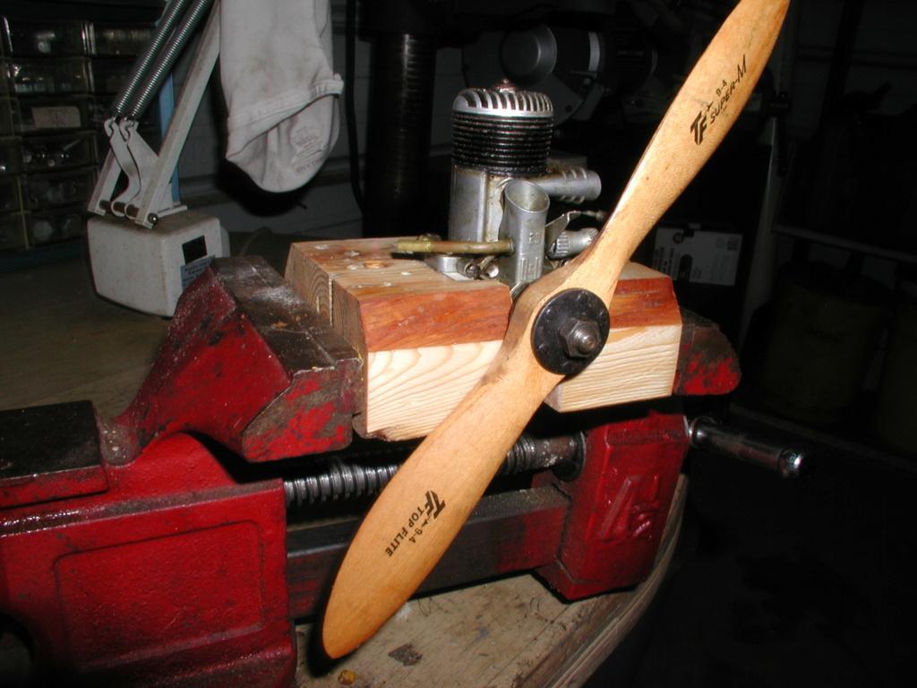 Building an Ohlsson & Rice test mount P1011259