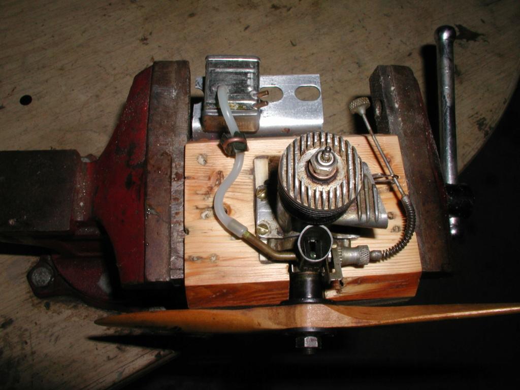 Building an Ohlsson & Rice test mount P1011262