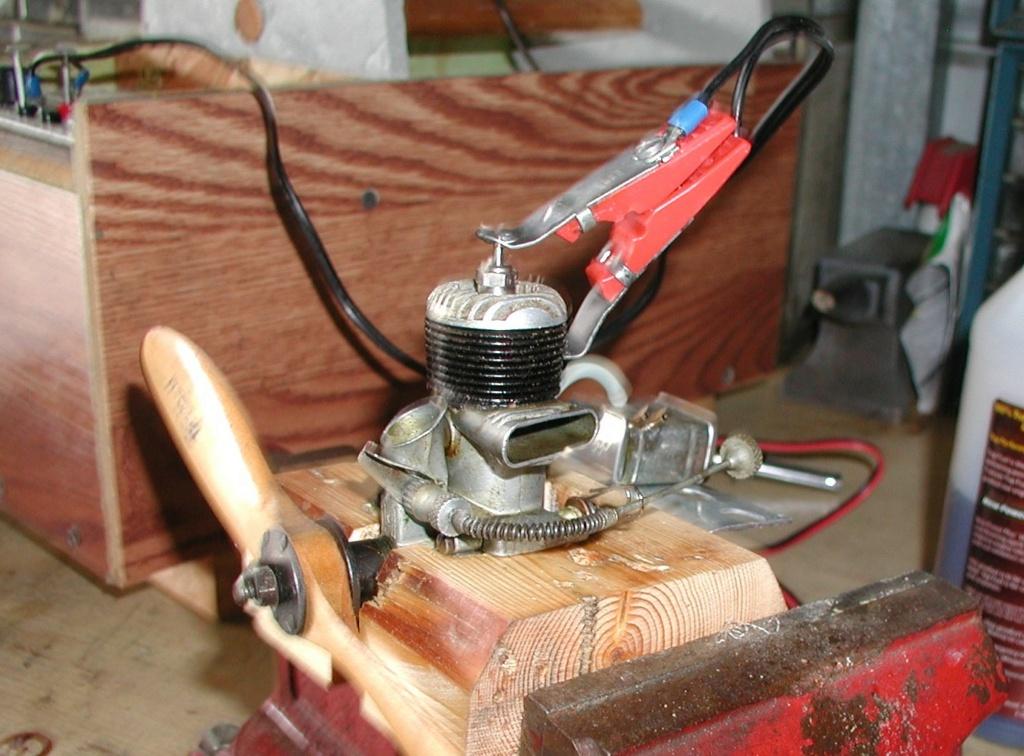 Building an Ohlsson & Rice test mount P1011264