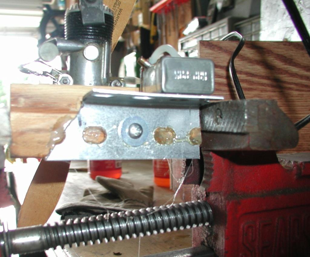 Building an Ohlsson & Rice test mount P1011265