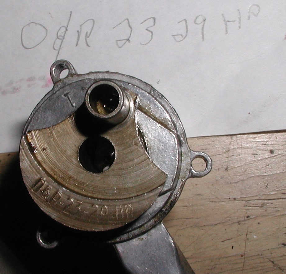 Highly distressed and missing one roller bearing, the O&R .29 and it's mount are finished P1011313