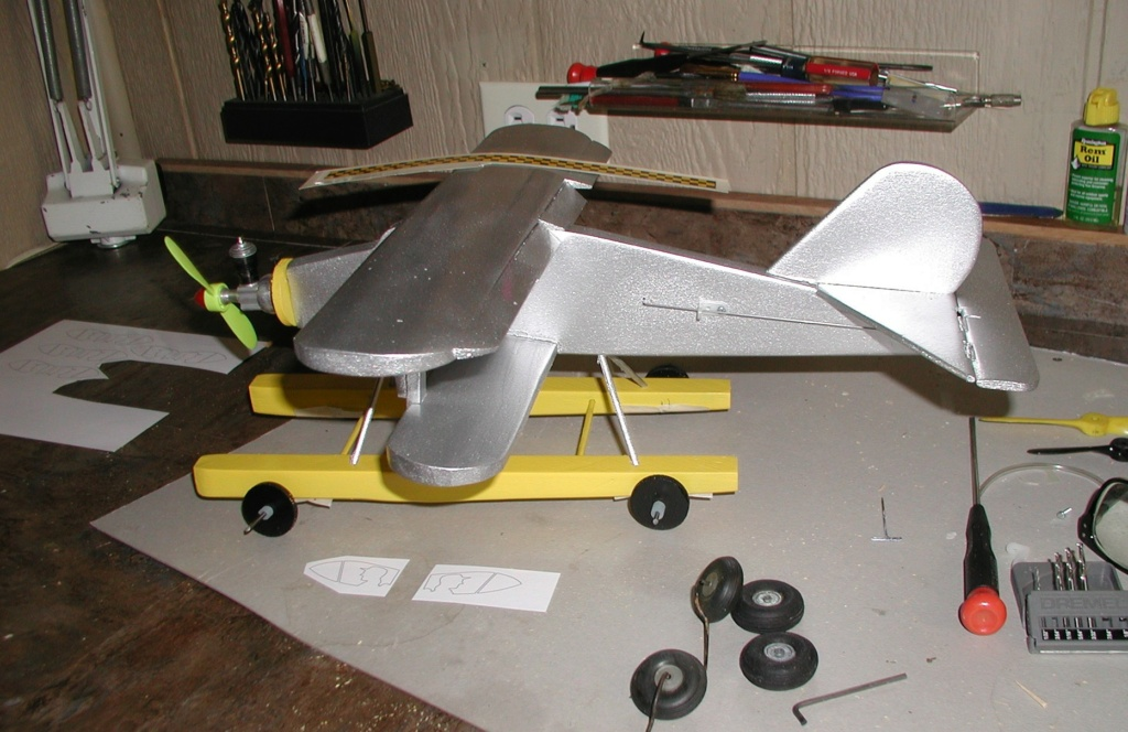 I build Rene's wacky Cox tri-motor pontooned tether car/airplane among other things - Page 2 P1011756