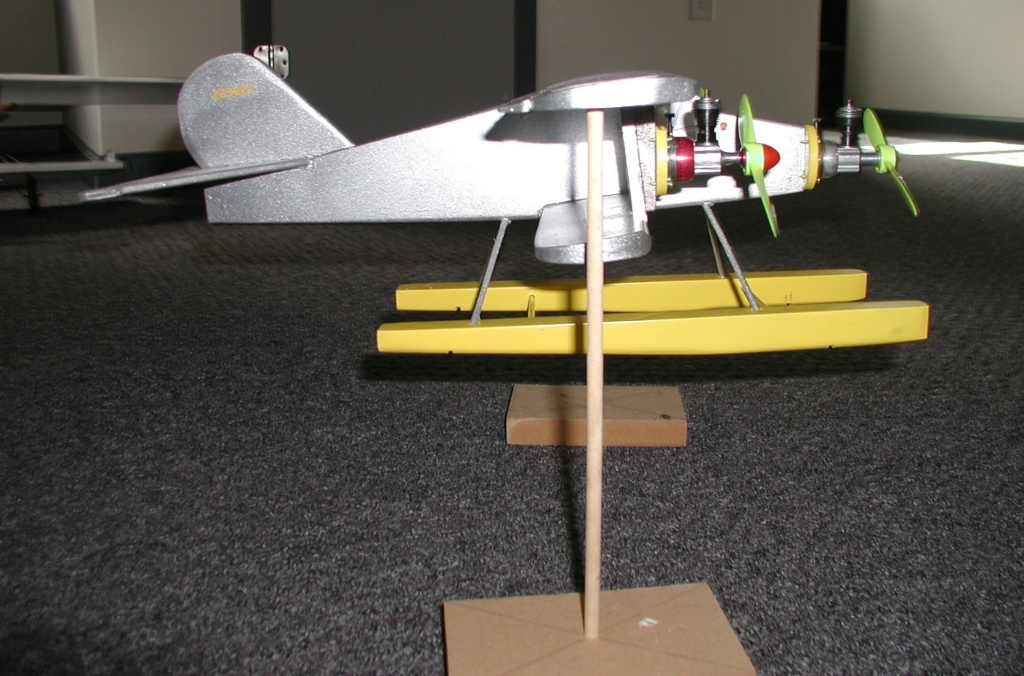 I build Rene's wacky Cox tri-motor pontooned tether car/airplane among other things - Page 2 P1011770