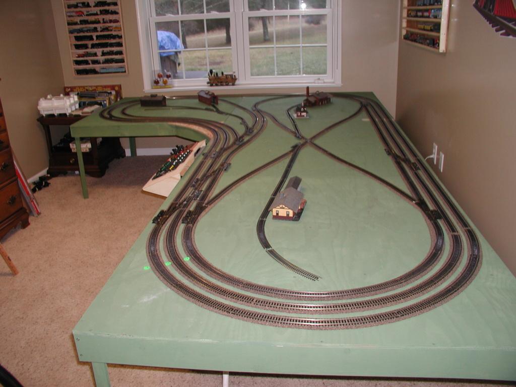 My layout as it progresses P6010012