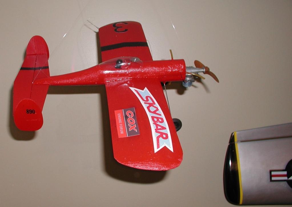 Flea market Cox P-40, F4U + receipts P8110013
