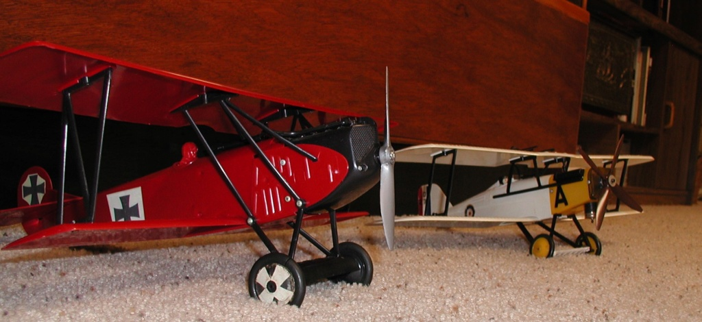 What about a Stock Cox/TD model airplane fall fly in??? P8290010