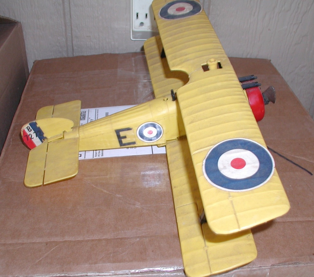 Plastic C/L model airplanes P9200014