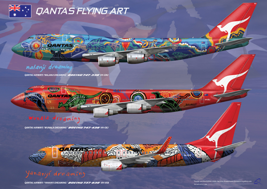"Limited Edition ""Graffiti Bee"" launched :) - Page 2 Qantas10"
