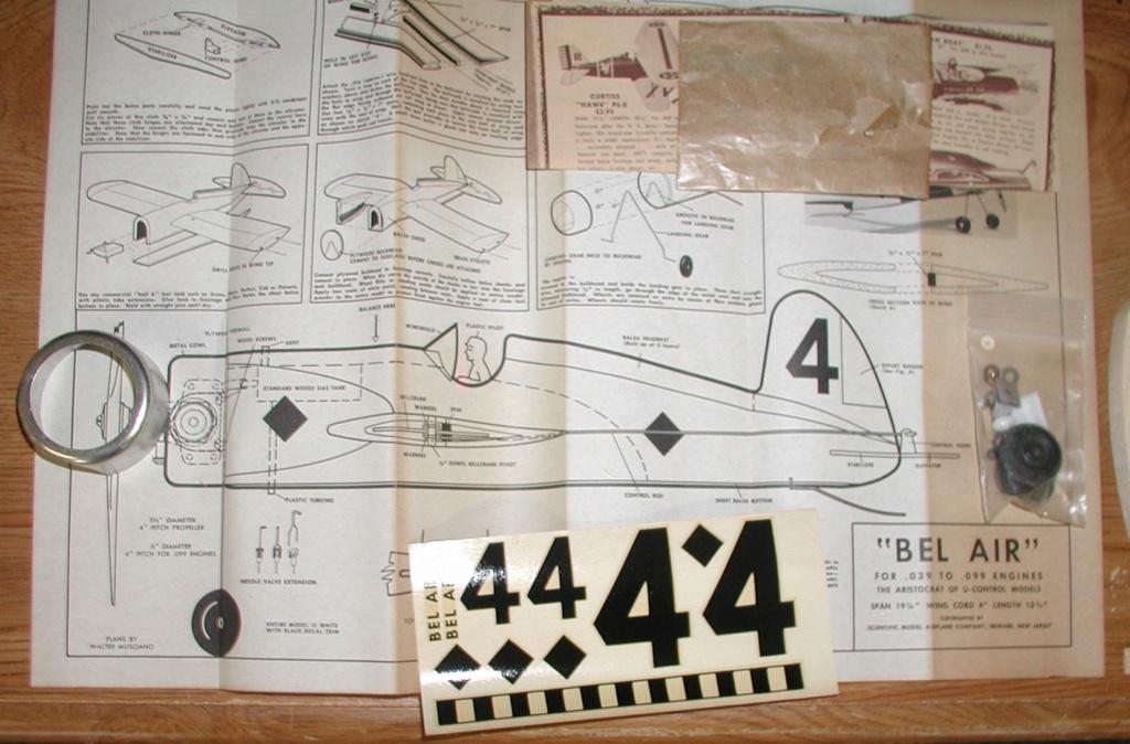 1960 Scientific P-40 Profile kit - Page 3 Scient12