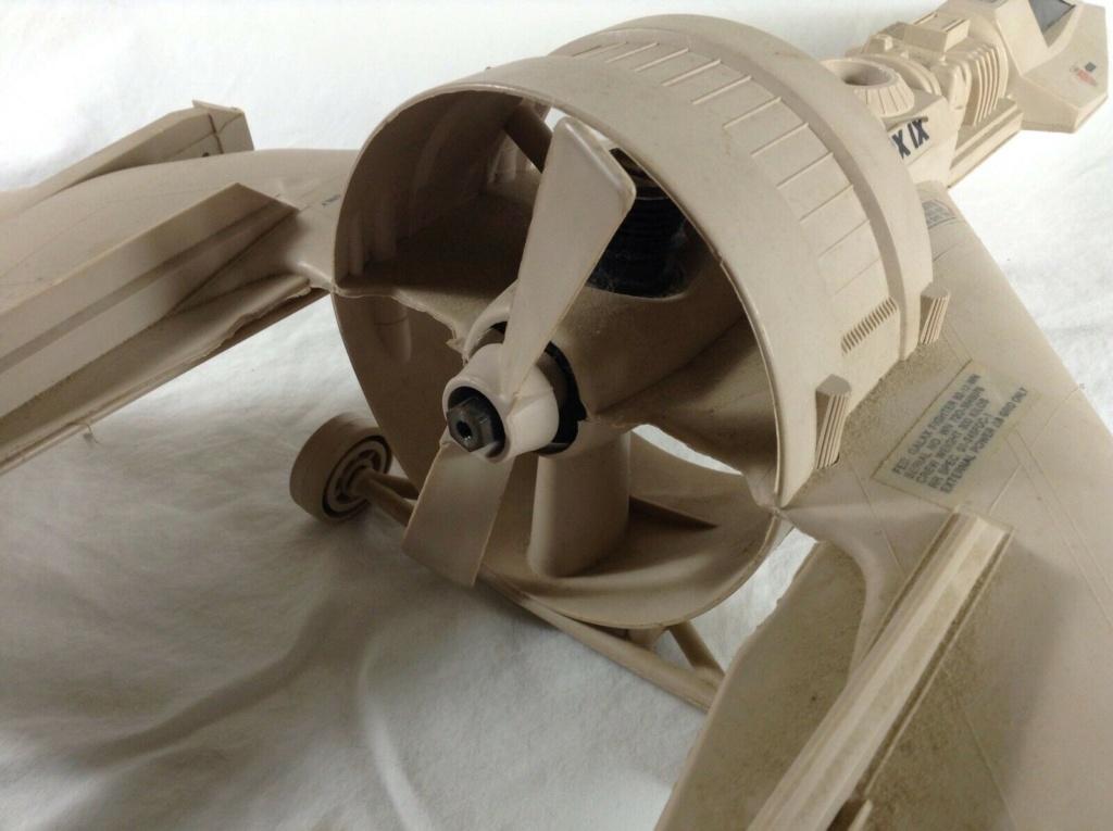 Cox/Testors ducted fan Star Wars plastic junque  Testor12