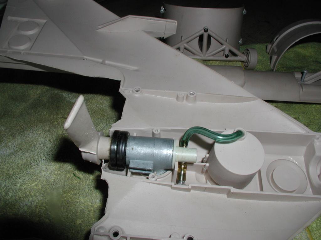 Cox/Testors ducted fan Star Wars plastic junque  Testor22