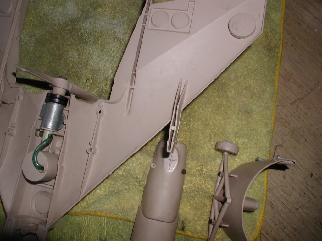 Cox/Testors ducted fan Star Wars plastic junque  Testor24