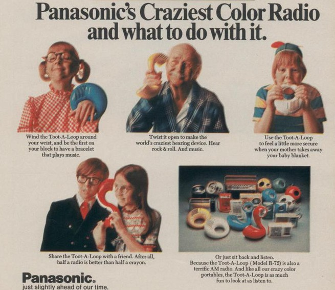 """And Yet, MORE """"Flea Marketing""""...And Our First Radios! Toot_a10"""
