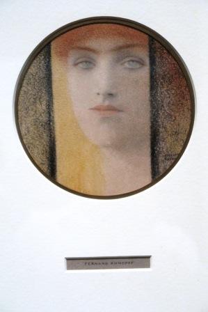 Fernand Khnopff,  Le maître de l'énigme 1312