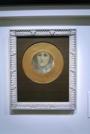 Fernand Khnopff,  Le maître de l'énigme 1412
