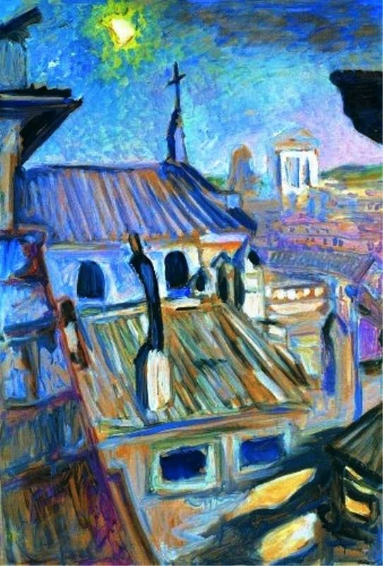 Rome et les peintres paysagistes - Page 3 Carlo_10