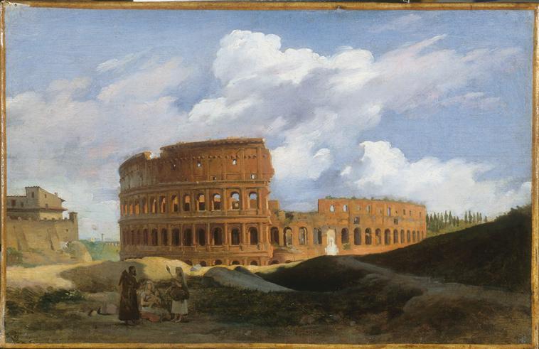 Rome et les peintres paysagistes - Page 3 Michal10