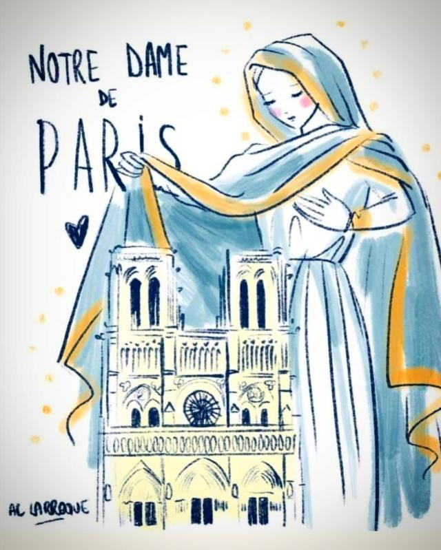 Hommage à Notre Dame de Paris D4wmih10