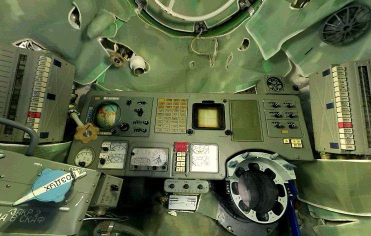 L'horloge de bord des Soyouz, des stations Saliout et de la navette Bourane 0610