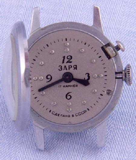 Les montres soviétiques pour aveugles 1054b10