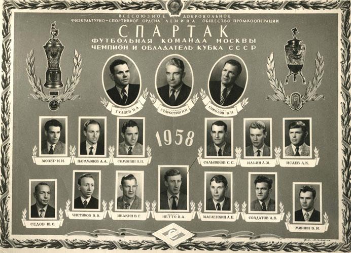 "Vostok Kadet ""Spartak"" 195811"