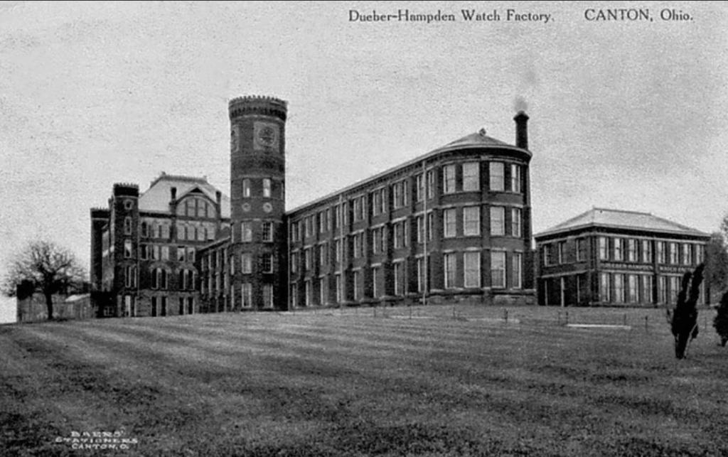 1930: Le déménagement à Moscou des fabriques Dueber-Hampden et Ansonia Clock 1duebe10
