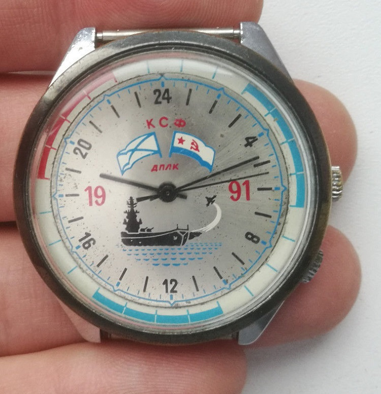 Les Raketa 24 heures soviétiques (2e partie: Les 2623.H spéciales) 2marin13