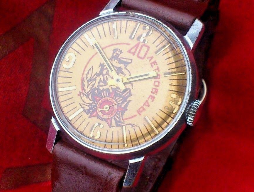 Les montres soviétiques commémoratives de la victoire  40pobe10