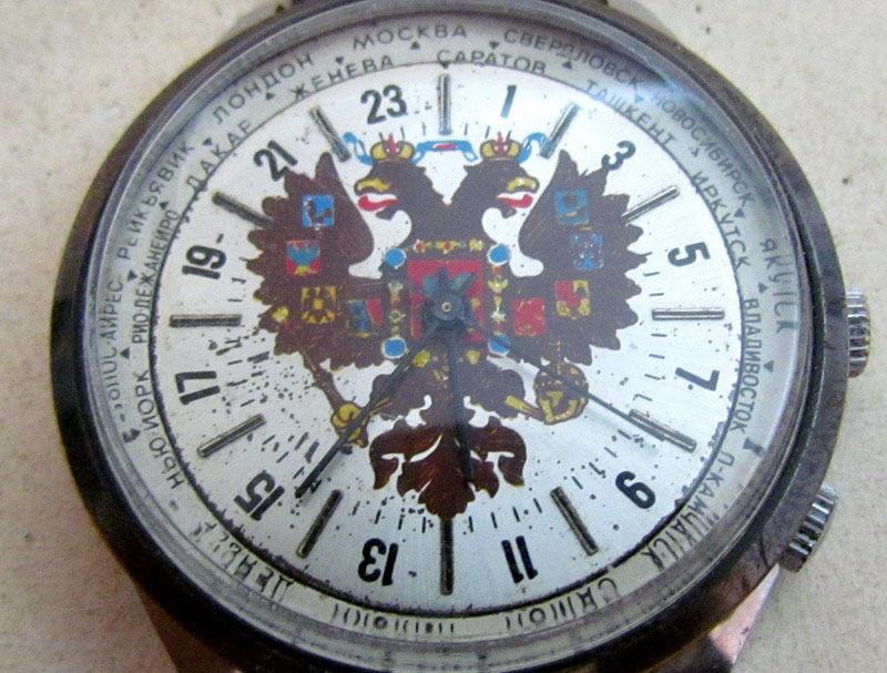 Les Raketa 24 heures soviétiques (2e partie: Les 2623.H spéciales) Aig210