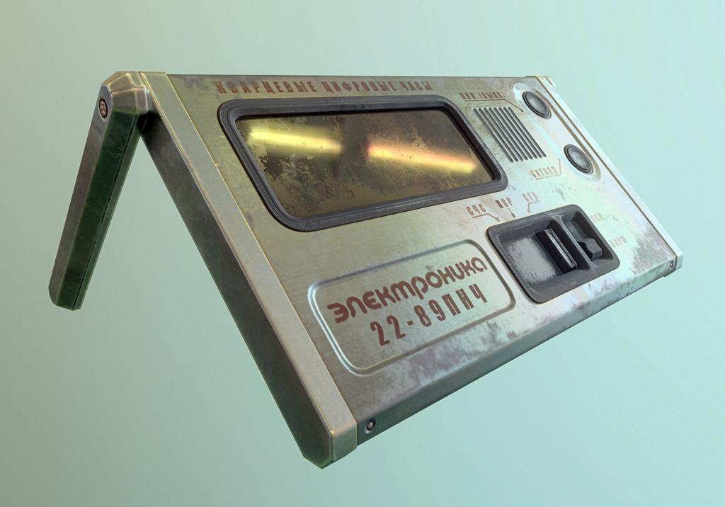 Réveil électronique de poche Elektronika 22-01 Alexan10