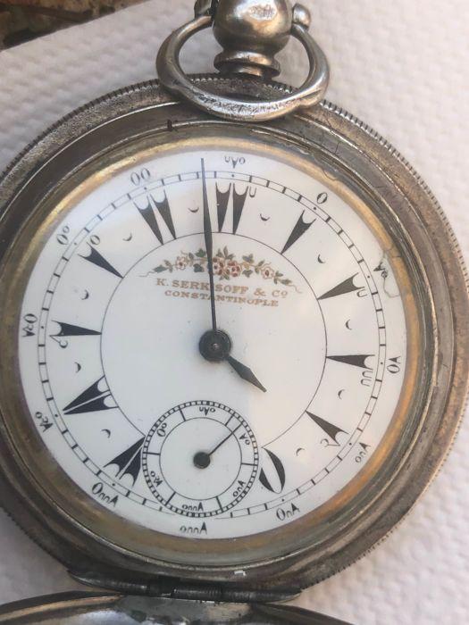 Les Serkisof: des montres soviétiques en Turquie Argent11