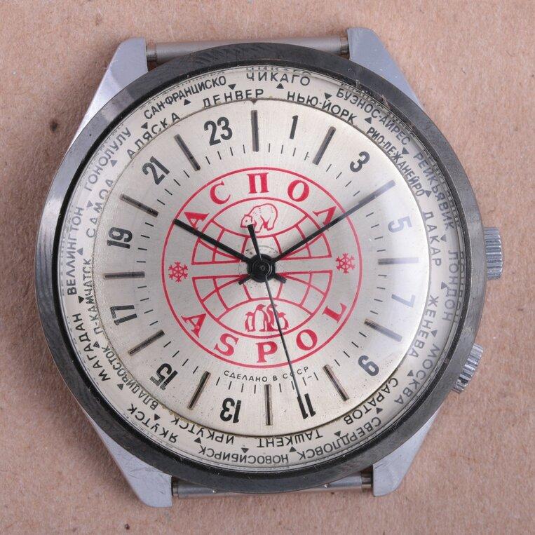Les Raketa 24 heures soviétiques (2e partie: Les 2623.H spéciales) Aspol10